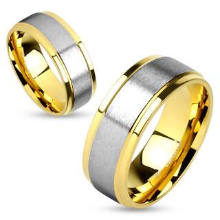 Snubní prstýnky z chirurgické oceli 4586