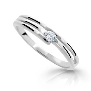Stříbrný prstýnek se zirkonem 1717