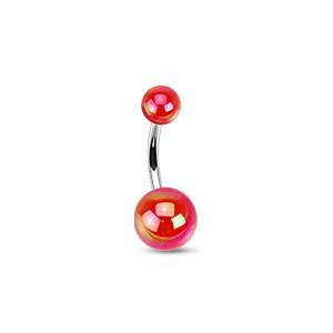 Piercing do pupiku. 1103 - Red