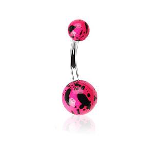 Piercing do pupíku 012-ROSE