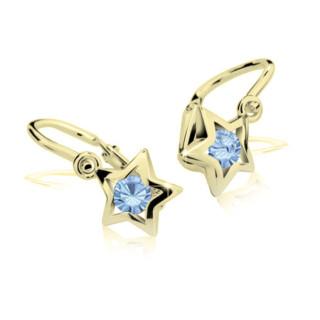 Dětské náušnice Cutie Jewellery C1942Z Arctic Blue