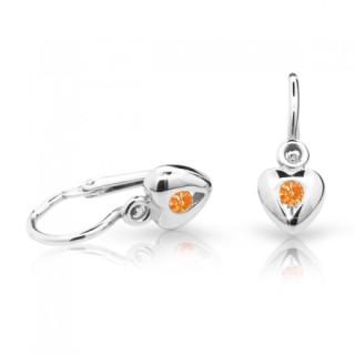 Náušnice pro miminka Cutie C1556B-Orange