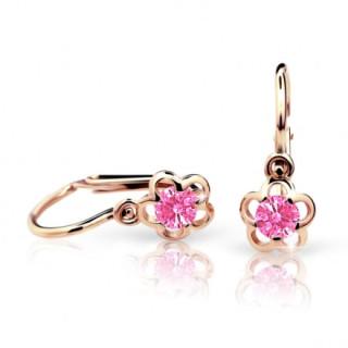 Náušnice pro miminka Cutie C1945R-Pink