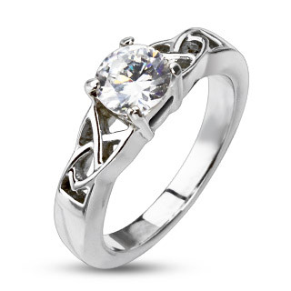 Ocelový prsten 2178