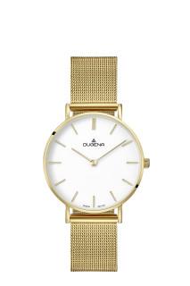 Zlaté dámské náramkové hodinky Dugena Linée 4460747