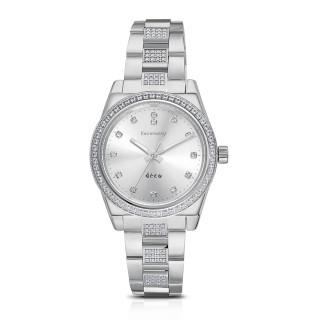 Ocelové náramkové hodinky Brosway Déco WDC14