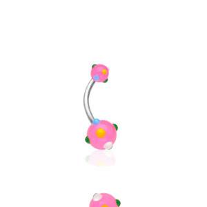 Piercing do pupíku 1622-ROSE