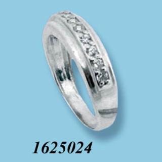 Stříbrný prsten se zirkony 1625024