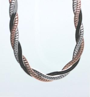 Dámský náhrdelník stříbrný 304984