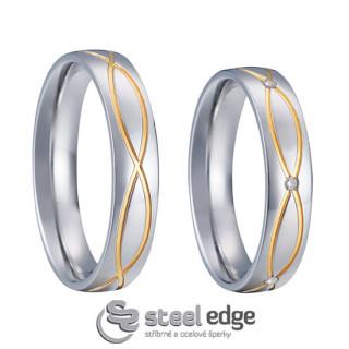 Svatební prstýnky SPPL008