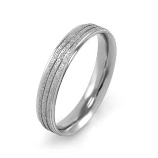 Ocelové snubní prsteny MCRSS022