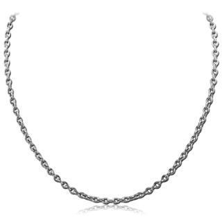 Klasický ocelový řetízek na krk SESCH050