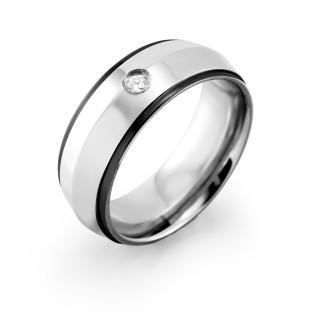 Ocelový prsten MCRSS019
