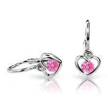 náušnice pro miminka Cutie Jewellery C1943B Pink