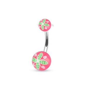 Piercing pupíku 1108-Rose