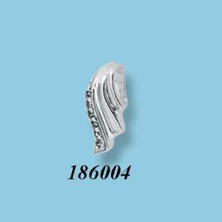 Stříbrný přívěsek se zirkony 186004