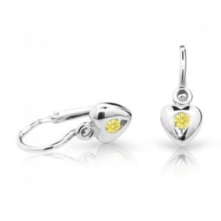 Náušnice pro miminka Cutie C1556B-Yellow